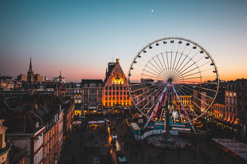 Grande roue Lille grand place