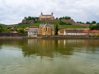 Die Festung Marienburg in Würzburg am Main
