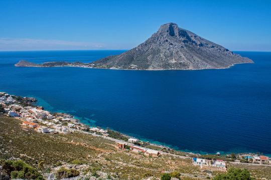 greece kalymnos island aegean sea