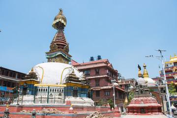 Swayambhunath stupa or  popularly known as the monkey temple in Nepal
