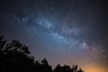 Die Milchstraße vom Gohrisch
