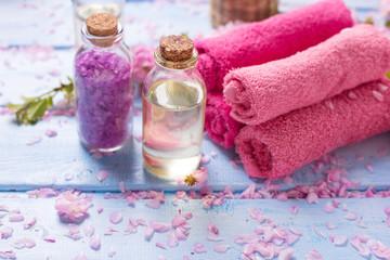 Spa concept. Organic cosmetics.