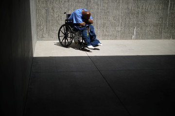 The Wider Image: Caring for California's aging prisoners