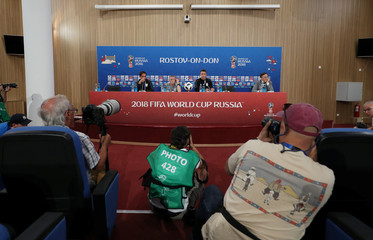 World Cup - Uruguay Press Conference