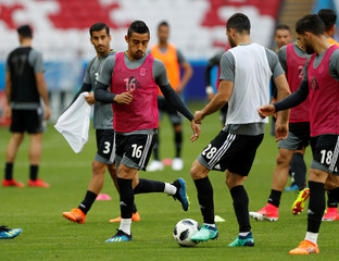 World Cup - Iran Training