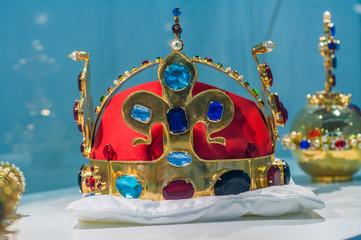 Replica of the Bohemian Crown Jewels