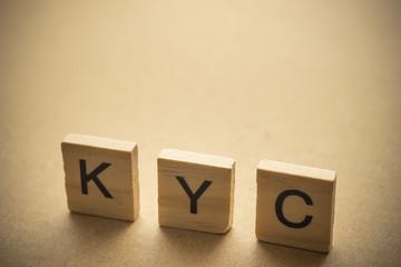 KYC on wood.