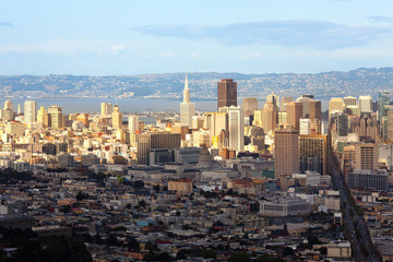 Panoramic view, San Francisco, California, USA