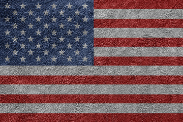 USA American Towel Texture Background