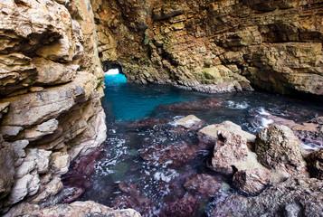 Odysseus cave at island Mljet
