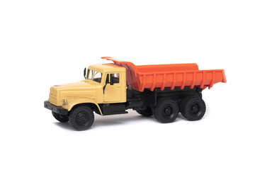the toy heavy truck