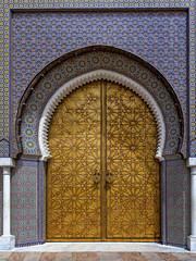 Ornate Door & Tile
