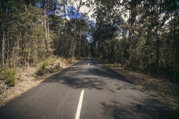 Megalong Valley, Vanishing point Road, Blue Montains, NSW, Australia