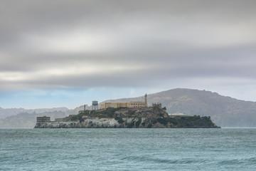 Alcatraz Island. San Francisco Bay, California, USA.