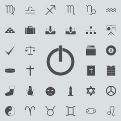 inclusion mark icon. Detailed set of  Minimalistic  icons. Premium quality graphic design sign. One of the collection icons for websites, web design, mobile app