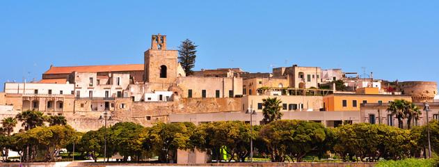 panorama of Otranto Italy