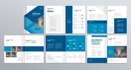 layout template  for company profile ,annual report , brochures, flyers, leaflet, magazine,book with cover page design .