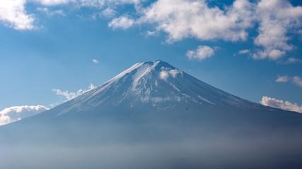 Mt.Fuji in the morning, Japan