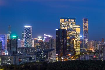 Shenzhen Houhai skyline