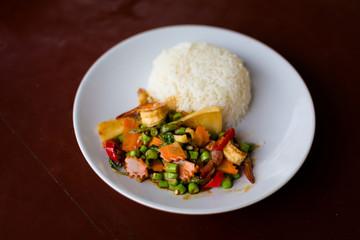 Thai mixed seafood Koh Mook