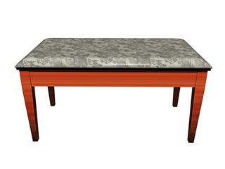 Arbeitstisch mit steinerner Tischplatte