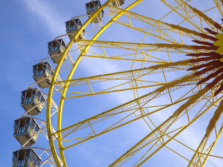 Ferris wheel at the Oktoberfest, Munich, Germany