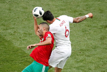 World Cup - Group B - Portugal vs Morocco