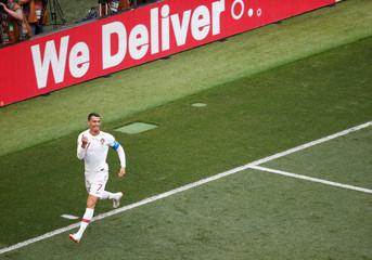World Cup - Group B - Portugal vs Morocco