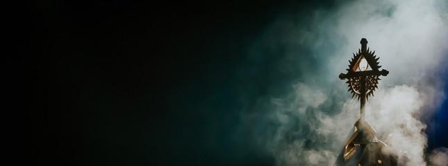Obraz Adoracja Najświętszego Sakramentu - fototapety do salonu