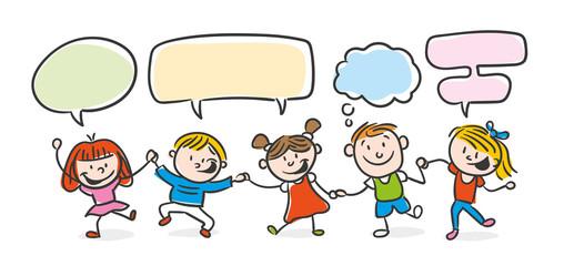 Kinder Sprechblasen
