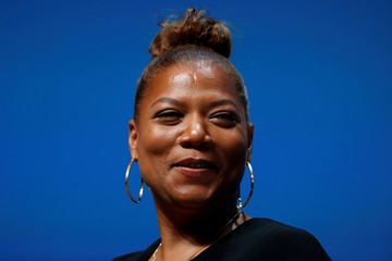 Queen Latifah attends a conference at the Cannes Lions International Festival of Creativity, in Cannes