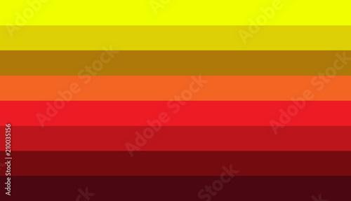 Warm Color Color Scheme Plank Design And Color Chart Stock Photo