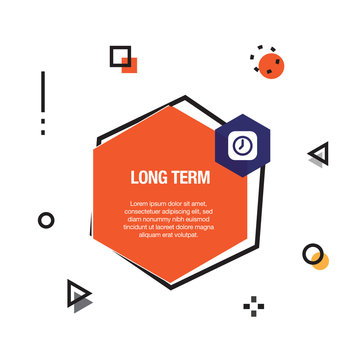 Long Term Infographic Icon