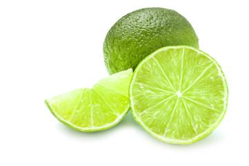Lime isolated on white backround