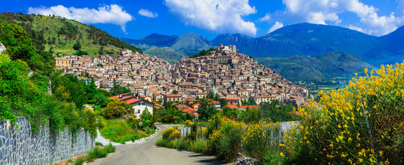Morano Calabro - one of the most beautiful villages of Italy. Calabria