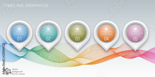 timeline chart design vector graphics fotolia com の ストック画像と