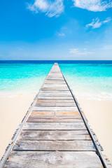 Wall Mural - Ruhe und Entspannung am blauen Meer