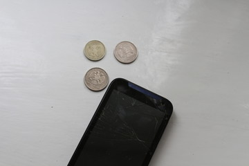 The money to repair the phone