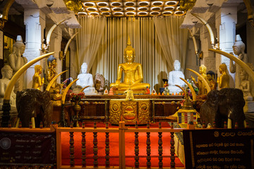 Temple of a Buddha tooth
