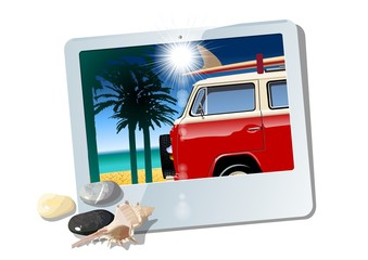 Vector tablet with camper