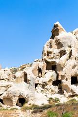 rock-cut ancient cave chapels near Goreme town