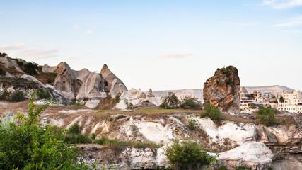 suburbs of Goreme town in Cappadocia