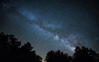 Milky Way in Albarraci{on