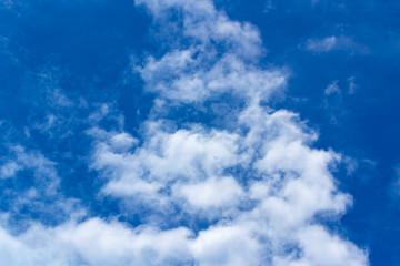 romantic blue sky, free landscape.