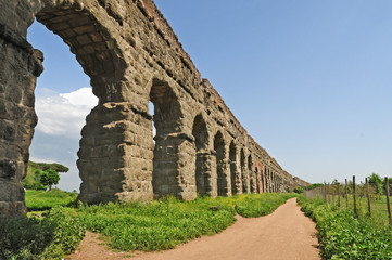 Roma, il parco degli Acquedotti romani