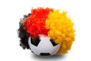 Fussball Perrücke Deutschland