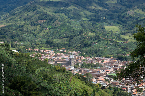 Village De Jardin Colombie Stock Photo And Royalty Free Images On