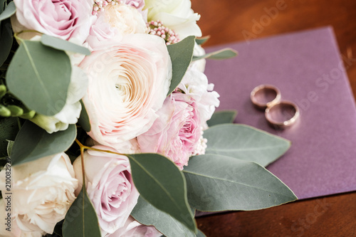 Wedding bouquet of roses and peonies bridal bouquet on wedding day wedding bouquet of roses and peonies bridal bouquet on wedding day bouquet of different mightylinksfo