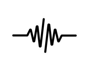 pulse line vector