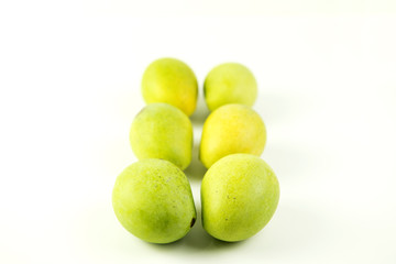 Mangifera indica, mango planted in southern Thailand tastes sour prefer to eat when the cooked or processed to a fruit jam